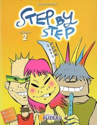 Step by step, la flûte à bec : livret de l'élève. Volume 2
