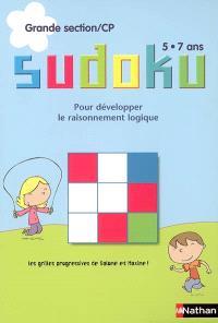 Sudoku, grande section-CP, 5-7 ans : pour développer le raisonnement logique : les grilles progressives de Salomé et Maxime !