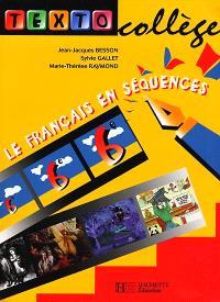 Texto College 6e Francais Livre De L Eleve Jean Jacques