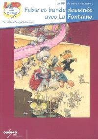 Fable et bande dessinée avec La Fontaine