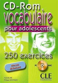 Vocabulaire 250 activités pour ado débutant