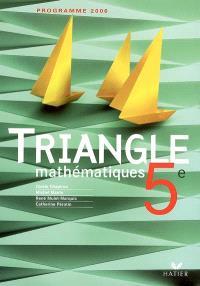 Mathématiques 5e : programme 2006