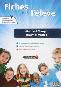 Maths et manga : SEGPA niveau 1