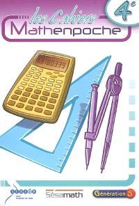Les cahiers mathenpoche 4e