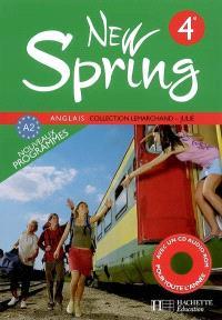 anglais 6e new spring workbook