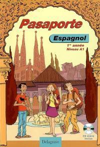 Pasaporte, espagnol 1re année niveau A1