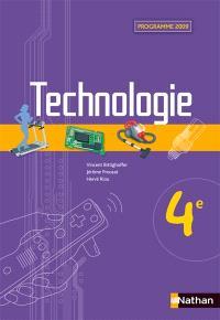 Technologie 4e : programme 2009