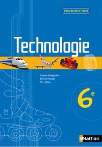 Technologie 6e : programme 2009