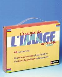 Analyse de l'image au collège : malette d'activités
