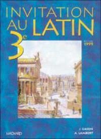 Invitation au latin, 3e