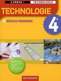 Technologie 4e : nouveau programme