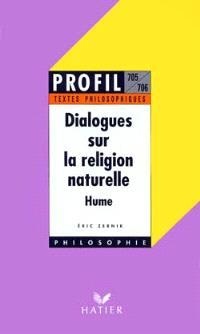Dialogues sur la religion naturelle, David Hume