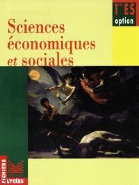 Sciences économiques et sociales, 1re ES, option