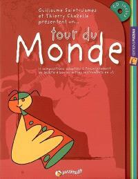 Tour du monde : 11 compositions adaptées à l'enseignement de la flûte à bec ou autres instruments en ut