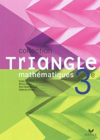 Mathématiques 3e : livre de l'élève : programme 2007