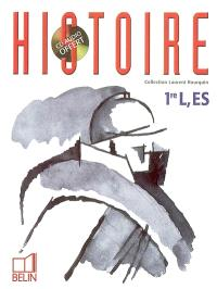 Histoire, 1re L, ES : programme 2003