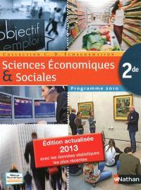 Sciences économiques et sociales (SES) 2nde : format compact, 2013