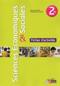 Sciences économiques & sociales 2de : fichier d'activités
