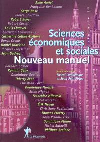 Sciences économiques et sociales : nouveau manuel : terminale ES