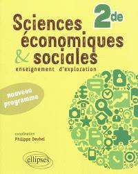 Sciences économiques et sociales : enseignement d'exploration : Seconde