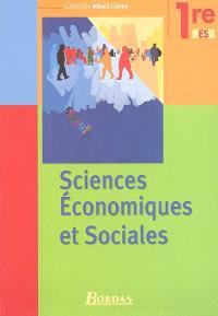 Sciences économiques et sociales 1re ES