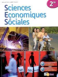 Sciences économiques et sociales, 2de : manuel de l'élève