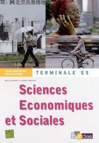 Sciences économiques et sociales, terminale ES enseignement obligatoire