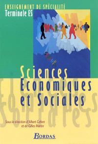 Sciences économiques et sociales, terminale ES, enseignement de spécialité