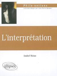 L'interprétation