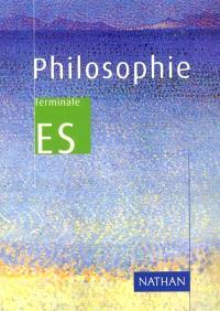 Philosophie terminale ES : livre de l'élève