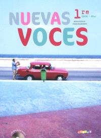 Nuevas voces 1re, CECRL B1-B2 : nouveaux programmes : format compact