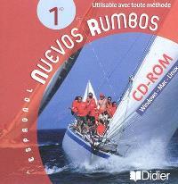 Nuevos rumbos, espagnol 1re : CD-ROM Windows, Mac, Linux