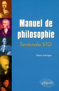 Manuel de philosophie terminale STG