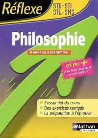 Philosophie STG, STI, STL, SMS : nouveau programme