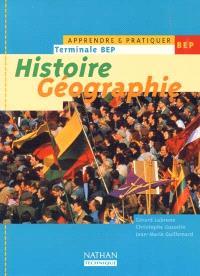Histoire géographie, terminale BEP : livre de l'élève