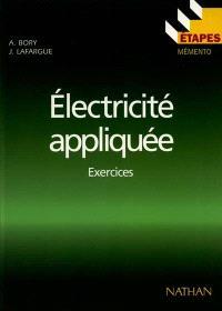 Electricité appliquée : exercices