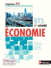 Economie BTS 1re année : i-manuel, livre + licence élève