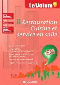 Restauration, cuisine et service en salle : BTS hôtellerie-restauration, licences pro, master MEEF hôtellerie-restauration