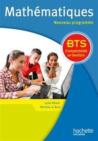 Mathématiques : BTS comptabilité et gestion : nouveau programme