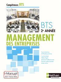 Management des entreprises, BTS 2e année : i-manuel, livre + licence élève