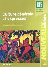 Culture générale et expression, BTS 1re et 2e années