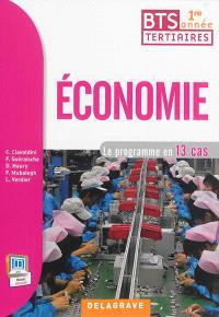 Economie BTS tertiaires 1re année : le programme en 13 cas