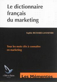 Le dictionnaire français du marketing : tous les mots clés à connaître en marketing