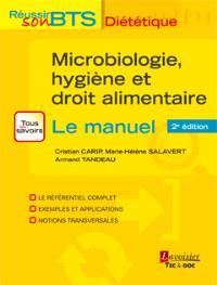 Microbiologie, hygiène et droit alimentaire : le manuel