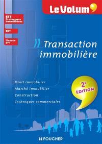 Transaction immobilière : BTS professions immobilières, DUT, licence pro