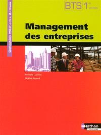 Management des entreprises, BTS 1 : manuel de l'élève