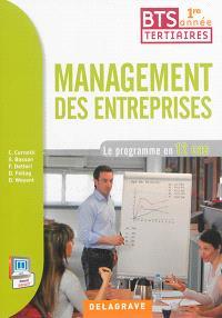 Management des entreprises, BTS tertiaires 1re année : le programme en 12 cas