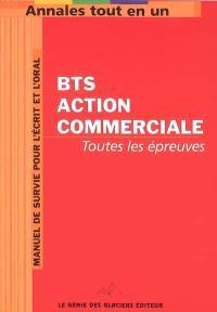 Annales tout en 1 pour BTS Action commerciale