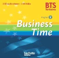 Business time : BTS tertiaires, anglais B2 : 2 CD audio classe + 1 DVD