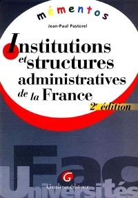 Institutions et structures administratives
